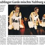 MZ-2010-01-12-Neutraublinger Garde mischte Nabburg auf