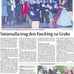MZ-2014-03-06-Saturnalia trug den Fasching zu Grabe