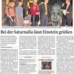 MZ-2014-11-13-Bei der Saturnalia lässt Einstein grüßen