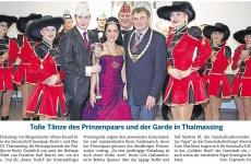 MZ-2014-02-10-Tolle Tänze des Prinzenpaares und der Garde in Thalmassing