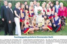 MZ-2011-07-26-Faschingsgarde gratulierte Ehrensenator Barth