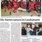 MZ-2012-01-20-Die Narren tanzen im Landratsamt