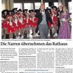 MZ-2013-02-08-Die Narren übernehmen das Rathaus